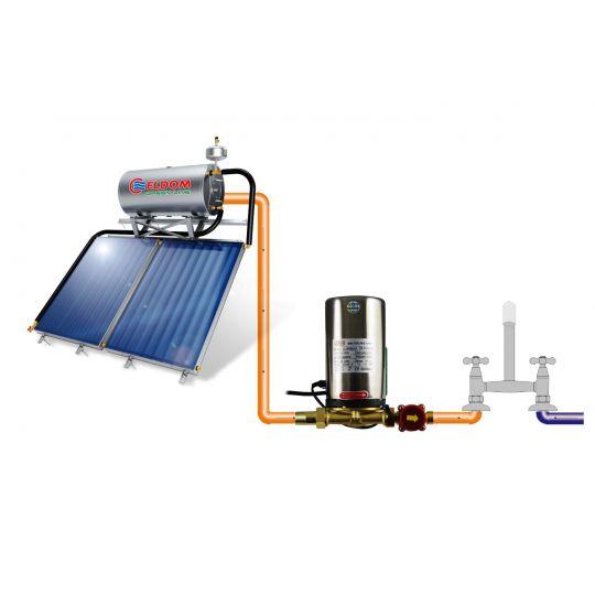 Pompa ridicare presiune panou solar 120W Joka + fluxostat