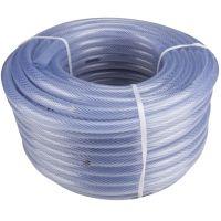 Furtun ranforsare textila Transparent 3/4 ETS, lungime 50 m, EvoTools