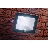 Proiector cu LED COB si senzor Meister Slim 10W, lumina rece, IP44 , Clasa A++