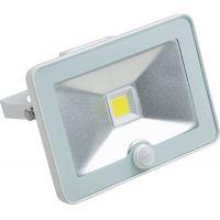 Proiector cu LED COB si senzor Meister Slim 20W, lumina rece, IP44 , Clasa A++