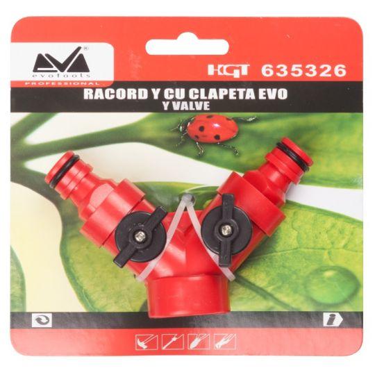 Racord Y cu Clapeta 3/4 ETP Evo Pro