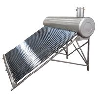 Sistem Panou Solar Inox cu Tuburi Vidate SP-470 C, 166 l, 15 Tuburi, EvoSanitary
