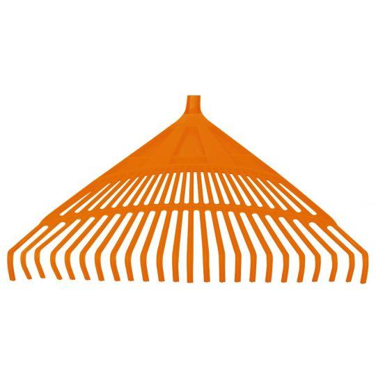 Grebla Plastic pentru Frunze 24 Dinti fara Coada 600 mm, EvoTools