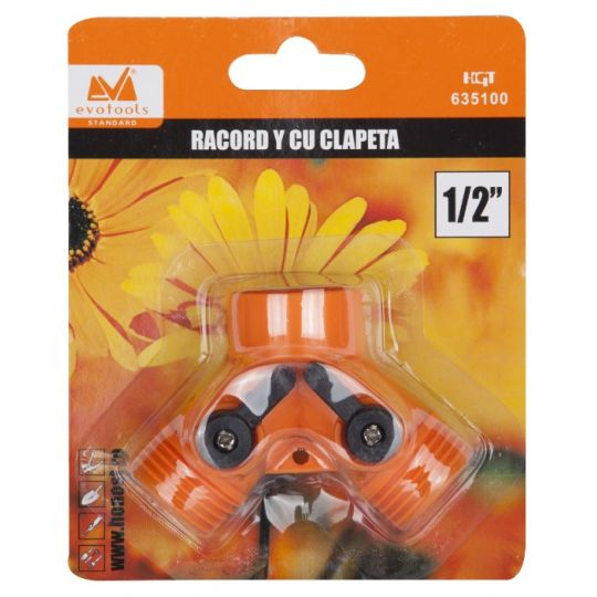 Racord Y cu Clapeta 3/4 EvoTools