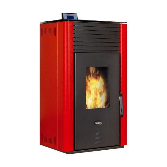 Termosemineu incalzire centrala peleti automatizat Prity PL W20 22 kW