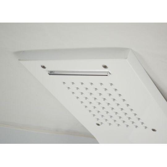 Panou dus hidromasaj inox 5 functii Digital Thermo White Satin Cleanmann