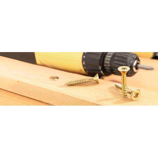 Surub Pal sau lemn cu cap inecat 5.0x80/60 - 175 buc Connex