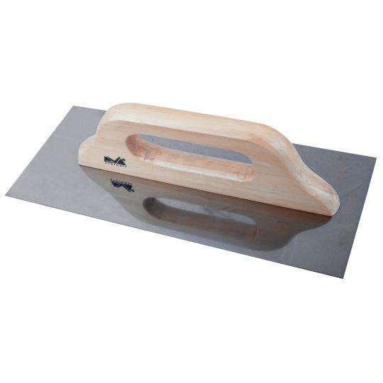 Drisca din Otel Inox cu Maner de Lemn 580 x 130 mm, Evo Pro