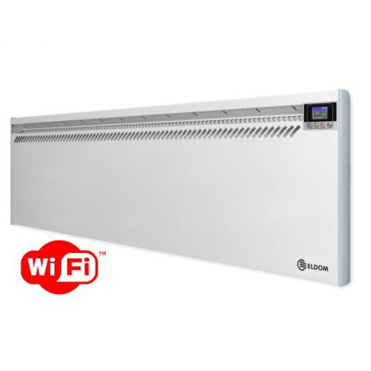 Panou radiant de perete Eldom RH25NW, 2500W, control Wi-Fi, digital, ecran color TFT