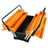 Cutie plastic pentru scule cu 3 straturi 495 x 200 x 290 mm Tolsen