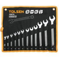 Set 12 Chei Combinate Cr-V 6-22 mm, Tolsen