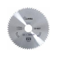 Panza circular lemn 125x22.23 mm, 60 dinti