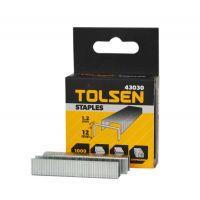 Set 1000 Capse pentru Lemn 12x1.2 mm, Tolsen