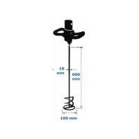 Amestecator elicoidal SDS zincat 100x600 mm Evo