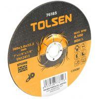 Disc Abraziv pentru Piatra 115x3x16 mm Tolsen