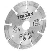 Disc Diamantat 180 mm, Grosime 10 mm, Tolsen Industrial