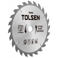 Disc vidia circular 235x30/25.4/20/16, Z40 Tolsen