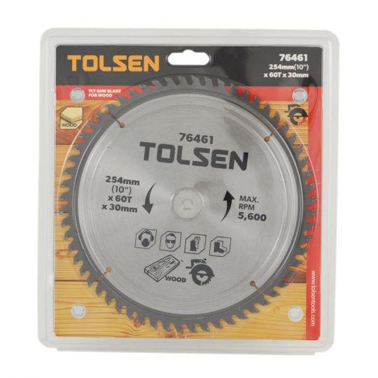 Disc vidia circular 254x30/25.4/20/16, Z60 Tolsen