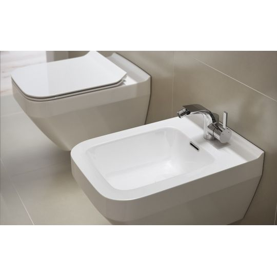 Vas WC suspendat Crea Rectangular Clean On Cersanit (capac separat)