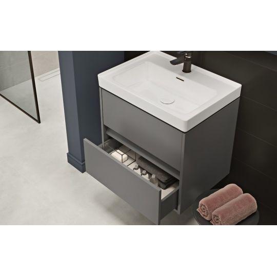 Lavoar mobilier Crea 50 Cersanit, gaura centru
