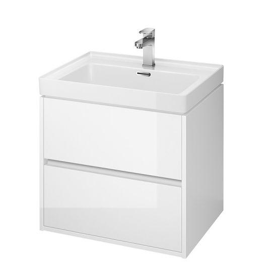 Dulap de baie alb Cersanit Crea pentru lavoar Crea 60 Cersanit