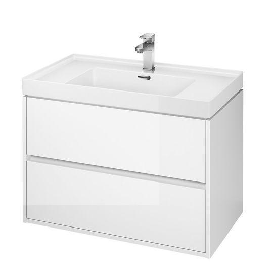Dulap de baie alb Cersanit Crea pentru lavoar Crea 80 Cersanit
