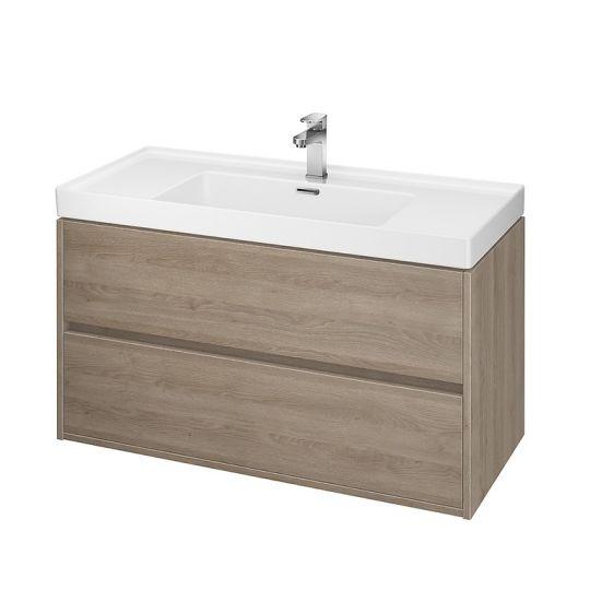Dulap de baie stejar Cersanit Crea pentru lavoar Crea 100 Cersanit