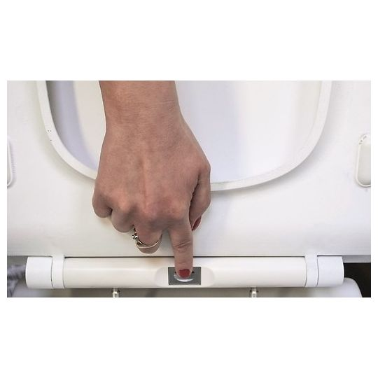 Capac WC Crea Oval Slim, duroplast, cadere lenta, One Button Cersanit
