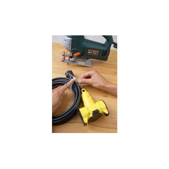 Colier Cablu Reutilizabil 200x7.6 mm, Alb, 25 buc, Meister