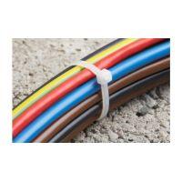 Set Coliere Cablu Diverse Marimi, Albe si Verzi, 85 buc, Meister