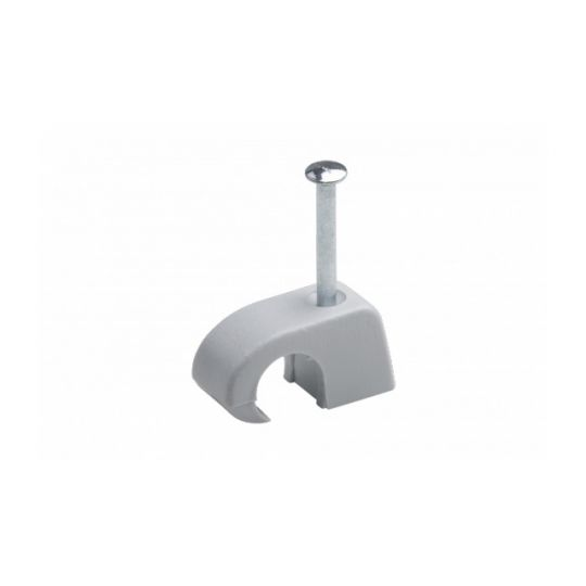 Clema Fixare Cabluri 7-11 mm, Gri, 200 bucati, Meister