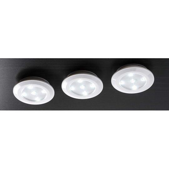 Set 3 Spoturi LED cu Telecomanda, Meister
