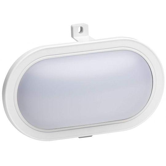 Aplica Ovala LED, 5.5 W, Alba, IP44, Meister