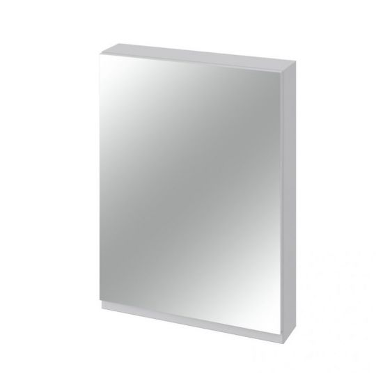 Dulap cu oglinda 60x80 cm, gri ,Cersanit Moduo (kit asamblare)