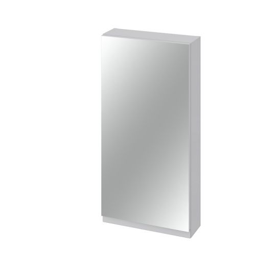Dulap cu oglinda 40x80 cm, gri ,Cersanit Moduo (asamblat)