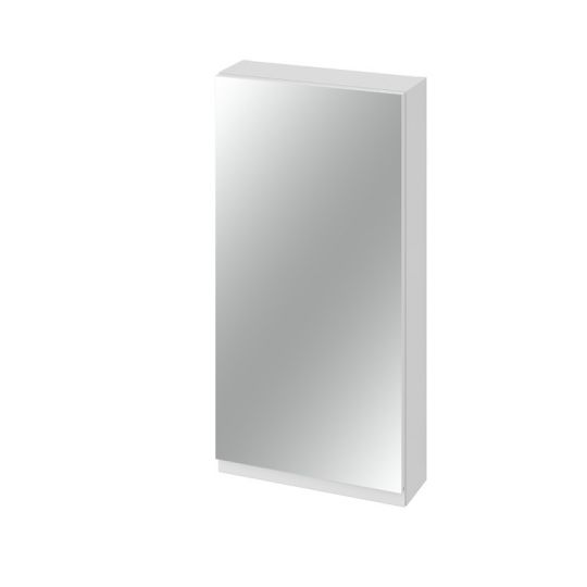 Dulap cu oglinda 40x80 cm, alb ,Cersanit Moduo (asamblat)