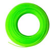Fir Nylon pentru Coase/Trimmer, Grosime 1.6 mm, Lungime 25 m, Culoare Verde, Connex