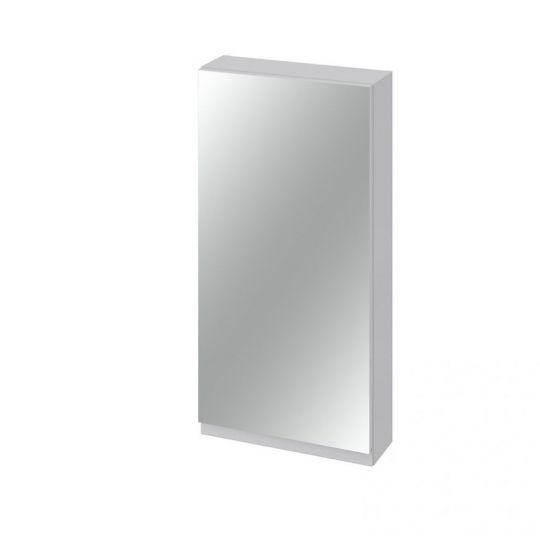Dulap cu oglinda 40x80 cm, gri ,Cersanit Moduo (kit asamblare)