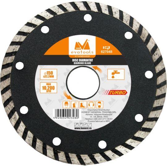 Disc Diamantat Turbo 150 mm EvoTools