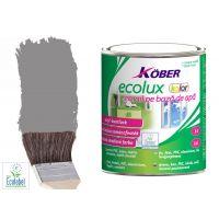 Vopsea pe baza de apa Ecolux Kolor Gri Deschis 2.5 l Kober