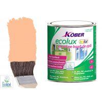 Vopsea pe baza de apa Ecolux Kolor Bej 2.5 l Kober