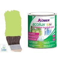 Vopsea pe baza de apa Ecolux Kolor Vernil 2.5 l Kober