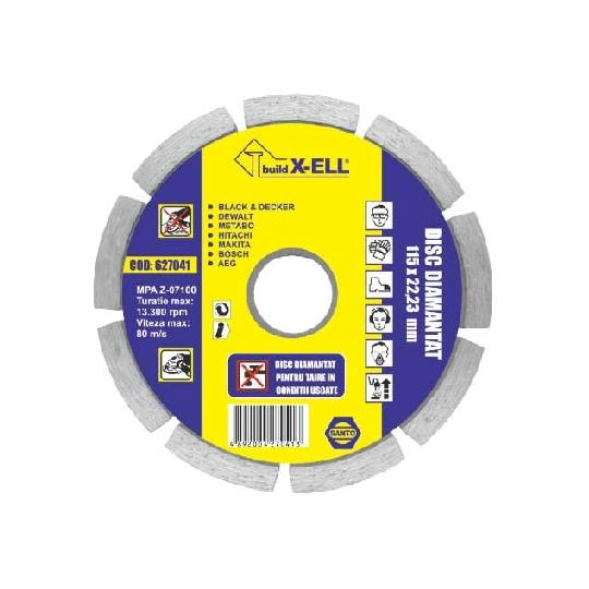 Disc diamantat BuildXell (USCAT) diametru 230 mm