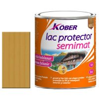 Lac protector Semimat Incolor 0.75 L Kober