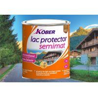 Lac protector Semimat Nuc Mediu 4 L Kober