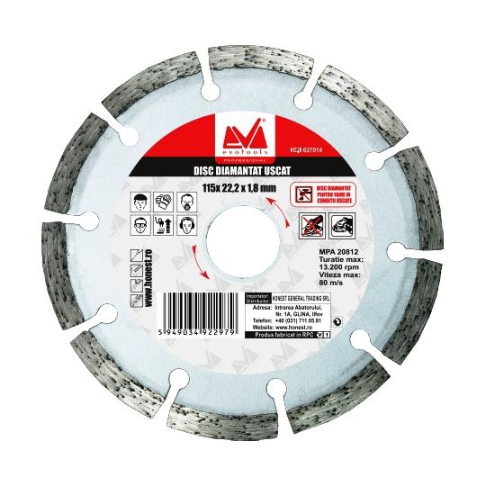 Disc diamantat Dry 150 mm Evo