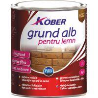 Grund alb pentru lemn 25 kg Kober