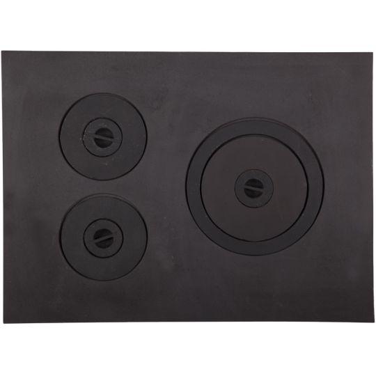 Plita soba fara rama 640x472 mm