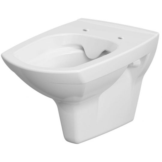 Pachet ALL IN ONE 613 compus din rezervor incastrat Link + vas WC suspendat Carina Clean On + capac WC duroplast cadere lenta Carina + clapeta Link Square crom mat