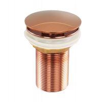 Ventil automat tip Pop-Up 1 1/4, lavoare fara preaplin Cleanmann, Rose Stralucitor